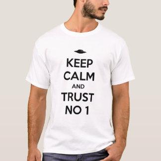 T-shirt Keep Calm and Trust Dans le 1