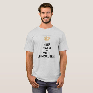 T-shirt Keep Calm and VOTE Leimgrübler (norme édition)