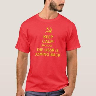 T-shirt Keep calm USSR