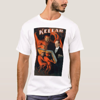 "T-shirt Kellar - ""tee - shirt de l'instruction du diable"""