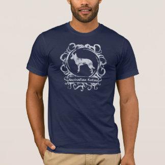 T-shirt Kelpie australien patiné chic
