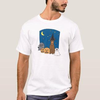 T-shirt Kelpie Halloween de des bonbons ou un sort