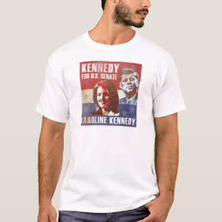 T-shirt Kennedy commence la campagne pour le sénat