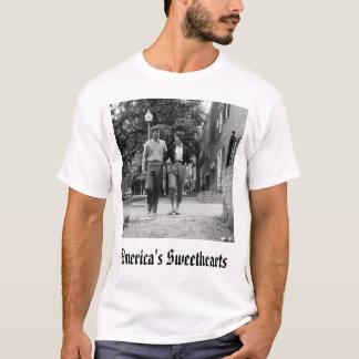 T-shirt Kennedy, les amoureux de l'Amérique