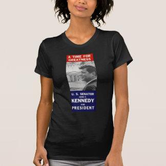 T-shirt Kennedy - un moment pour la grandeur