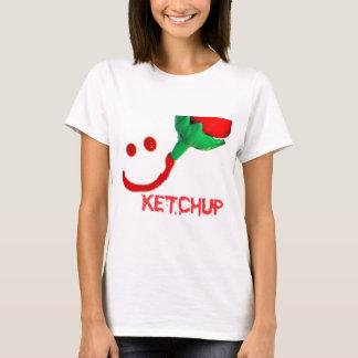 T-shirt ketchup