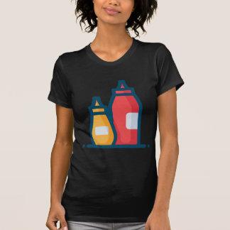 T-shirt Ketchup et moutarde