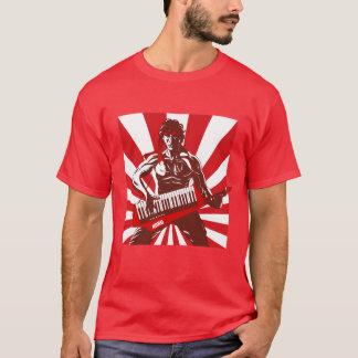 T-shirt Keytar Rambo