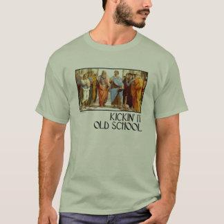 T-shirt Kickin il vieille école (d'Athènes)