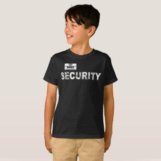 T-shirt Kids'pièce en t de sécurité de magasin de Geek,