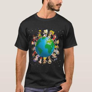 T-shirt Kidz du monde