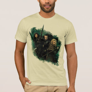 T-shirt Kili, THORIN OAKENSHIELD™, et graphique de Fili