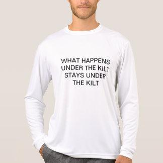 T-shirt Kilt