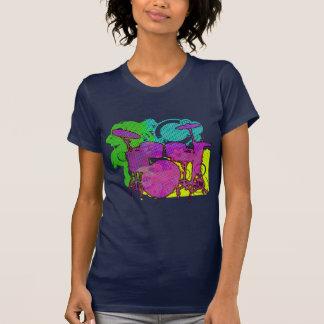 T-shirt kit de tambour