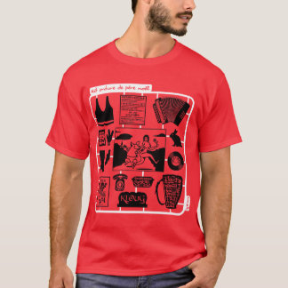 T-shirt Kit le père noël est une ordure