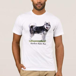 T-shirt Klee d'Alaska noir et blanc Kai