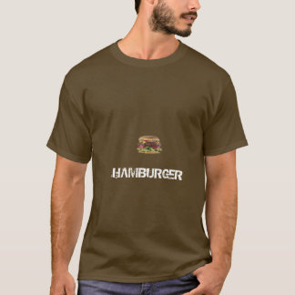 T-shirt klslkjd, HAMBURGER
