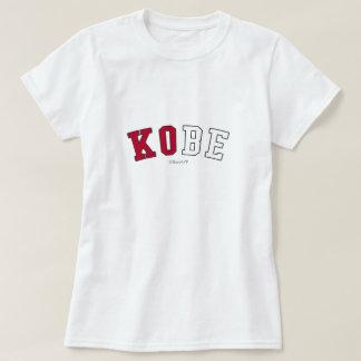T-shirt Kobe dans des couleurs de drapeau national du