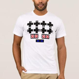 T-shirt Konami contre le code