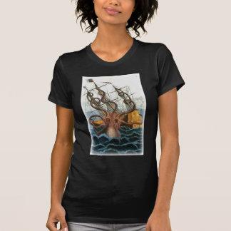 T-shirt Kraken par Pierre Denys de Montfort, 1801