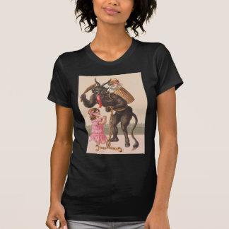 T-shirt Krampus punissant la chaîne de commutateur