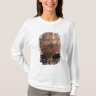 T-shirt Krater dépeignant le départ de Hercule