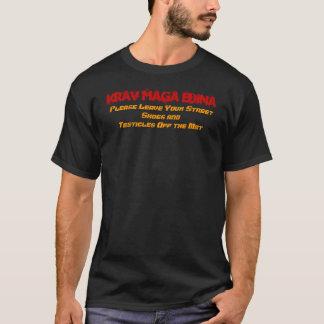 T-shirt Krav Maga Edina, laissent svp votre rue chausse…