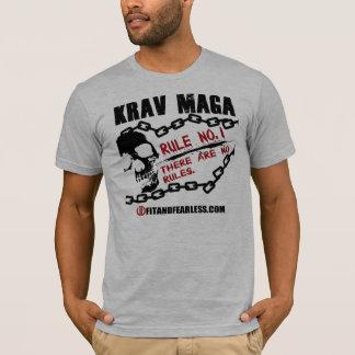 T-shirt Krav Maga - no. 1 de règle