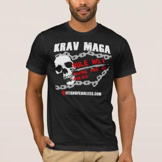 T-shirt Krav Maga - no. 1 de règle - ajustement et