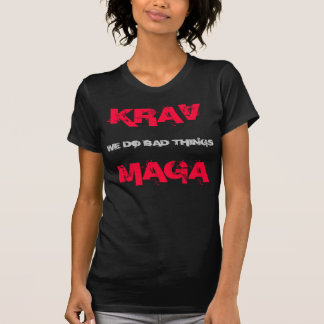 T-shirt KRAV MAGA shirt, a prié things