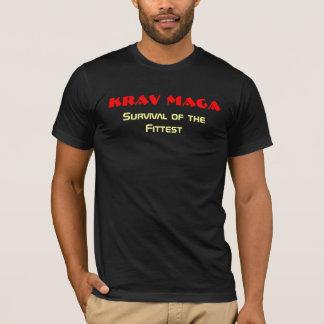 T-shirt Krav Maga, survie du plus convenable