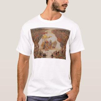 T-shirt Krishna instruit Arjuna