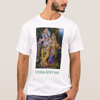 T-shirt Krishna vous aime !