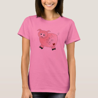T-shirt Krouik-krouik krouik-krouik porc