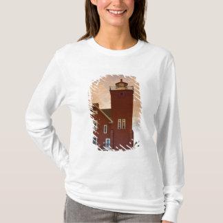T-shirt La baie de négligence d'agate de phare de deux