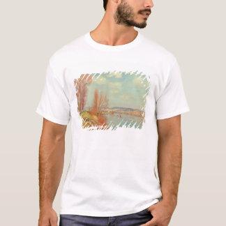 T-shirt La baie et la rivière, 1901 (huile sur la toile)