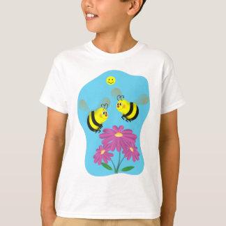 T-shirt La bande dessinée gaffent des abeilles