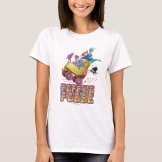 T-shirt La bande du pavot des trolls |