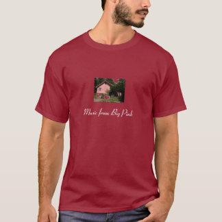 T-shirt La bande, musique de grand rose
