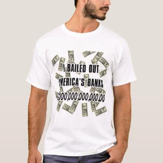T-shirt La banque écopent la chemise