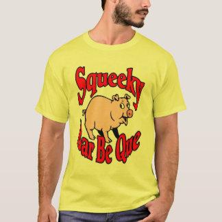 T-shirt La barre de Squeeky soit des chemises de Que