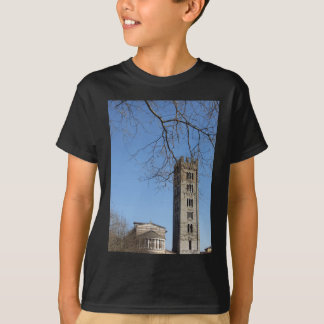 T-shirt La basilique de San Frediano et sa tour de cloche