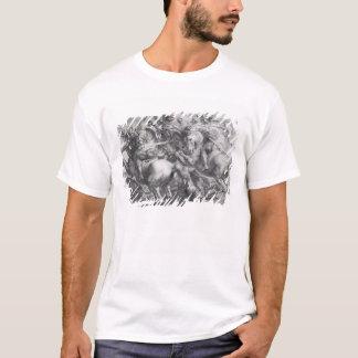 T-shirt La bataille d'Anghiari après Leonardo da Vinci