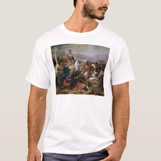 T-shirt La bataille de Poitiers, gagnée par Charles Martel