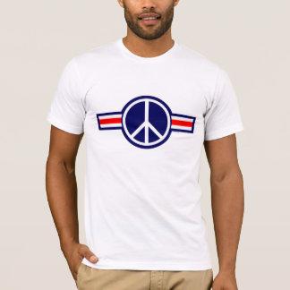 T-shirt La Battre à plat de couture-Corée