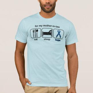 T-shirt La belle-mère mangent l'espoir de sommeil - cancer