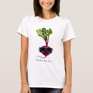 T-shirt La betterave va sur-lumière