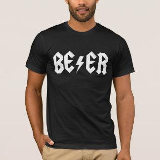 T-shirt La bière bascule des hommes