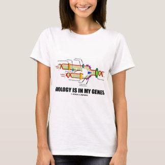 T-shirt La biologie est dans mes gènes (la reproduction