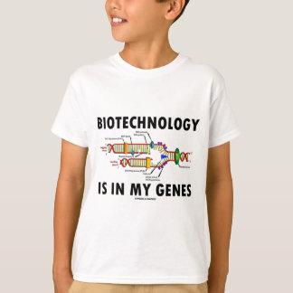 T-shirt La biotechnologie est dans mes gènes (la